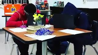 Students Using the Fidgeetez Chair Bands 2
