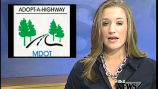 MDOT'S Adopt A Highway Clean-Up
