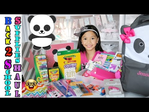 2016 Back to School Supplies Haul!!!