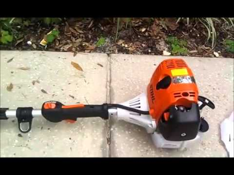 Image result for may cắt cỏ đa năng stihl km 130