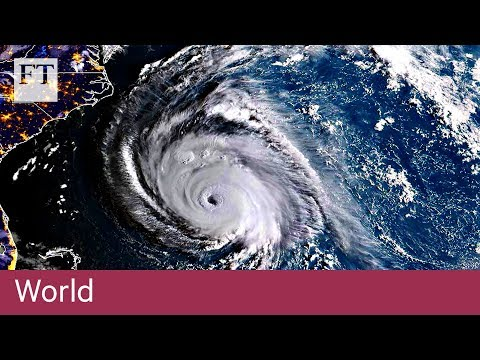 Hurricane Florence approaches US