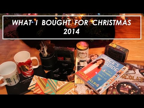 What I BOUGHT For Christmas 2014!