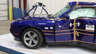 Dodge Challenger (2020) Crash Tests [Side, Side Pole, Front]
