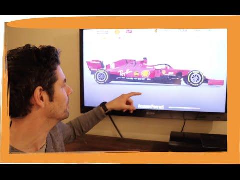 New Ferrari SF1000 F1 Car Tech Review - MP347