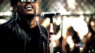 Lenny Kravitz - NBA on TNT spot feat.