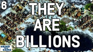 FINAL ZOMBIE INVASION (170% MAP 3) - They Are Billions Gameplay #6 - 170% [4k]