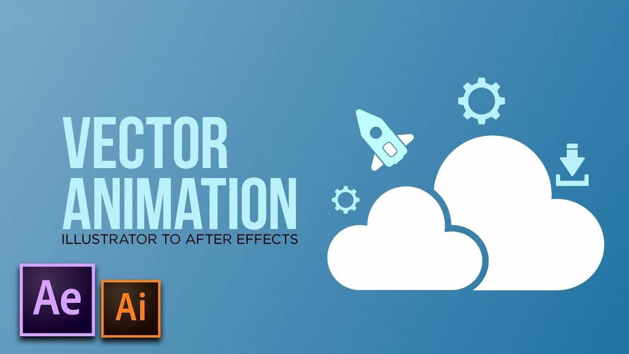vector animation 101 after effects to illustrator motion graphics tutorial youtube zahn vektor gehirn