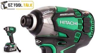 Hitachi Triple Hammer Impact Driver - 18V, IP56, Brushless WH18DBDL2