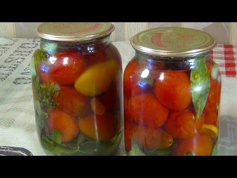 Очень вкусные маринованные помидоры