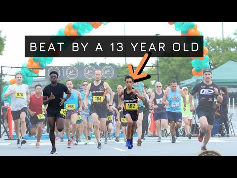 Running Results Vs 13 Year Old Runner | 5k Race Times