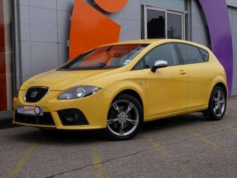 2008 seat leon fr 2 0tfsi dsg hatchback yellow for sale in hampshire youtube. Black Bedroom Furniture Sets. Home Design Ideas