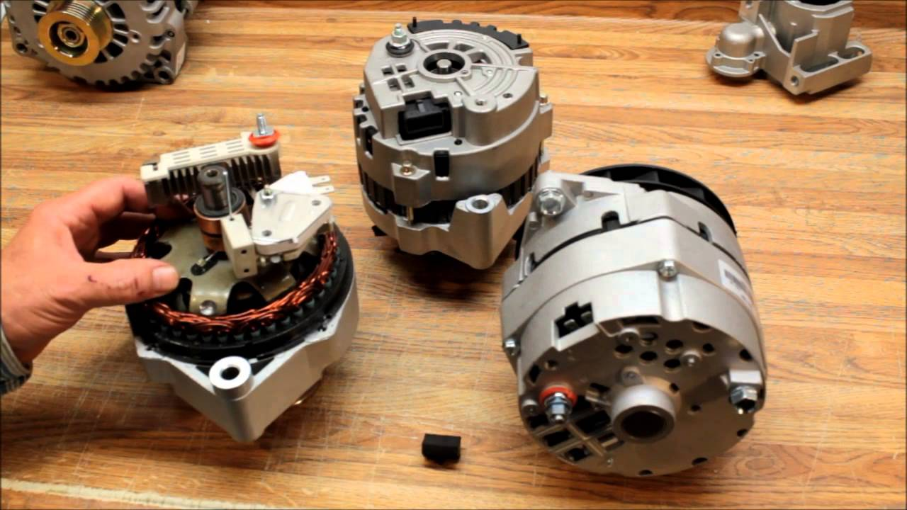 Excite the One Wire - Self Exciting Alternator. - YouTube