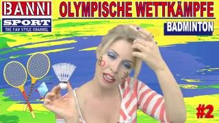 BADMINTON #2 - Olympic Wettkampf - Exklusiv Original Banni Sport Fan Style Make-up Tutorial
