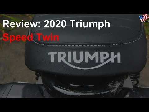 2020 Triumph Speed Twin Review: A shameless love letter