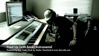 Fired Up (with hook) Instrumental (Produced by Don Coda)