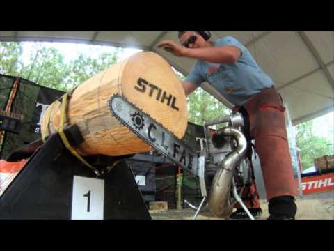 2012 Mid-Atlantic Pro Qualifier: Hot Saw Lumberjack Competition