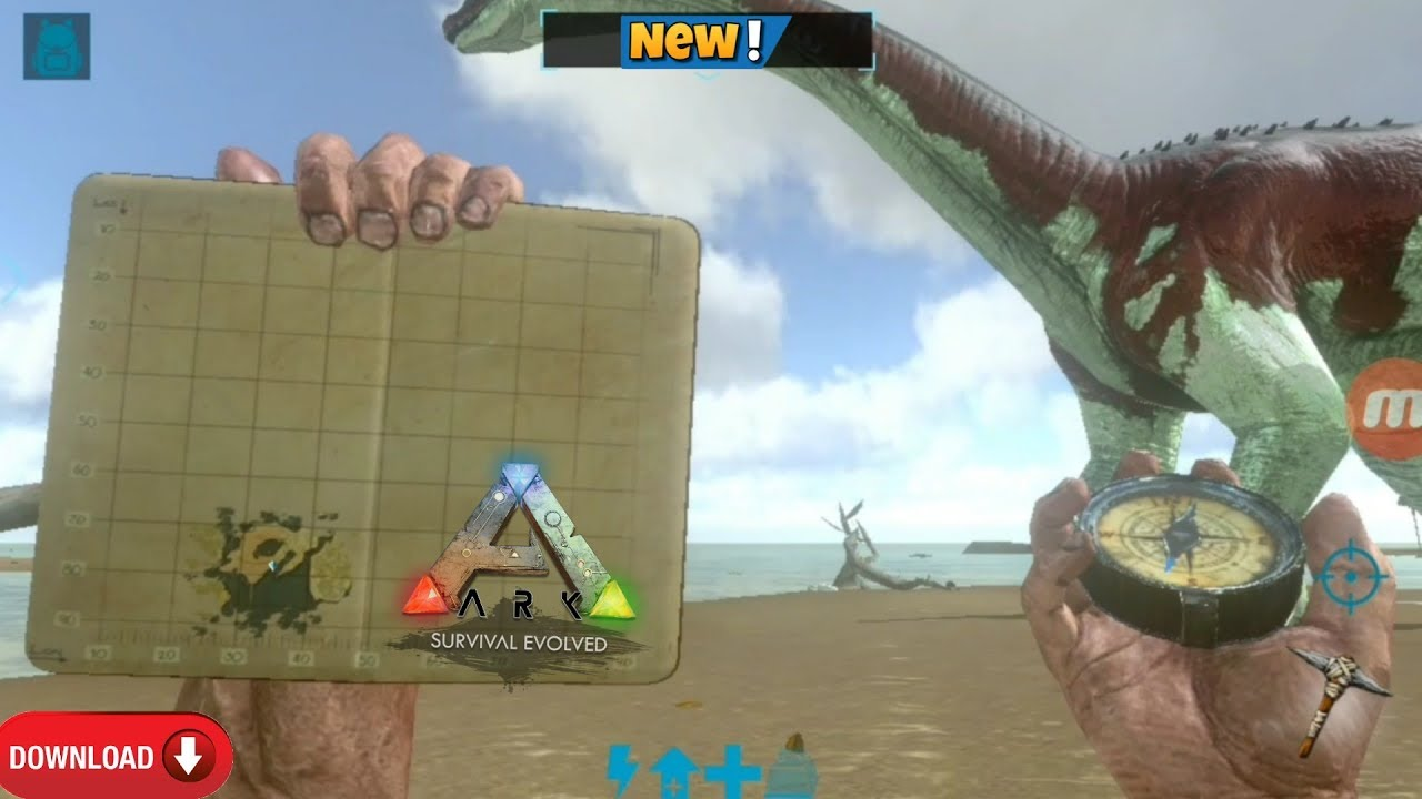 Download ark survival evolved game in android apk + data