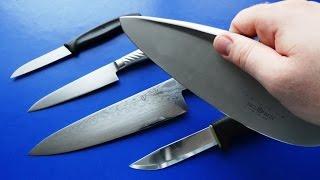 Мои кухонные ножи, чем я пользуюсь на кухне?