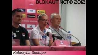 FIVB WGP 2012 Łódź - Katarzyna Skorupa