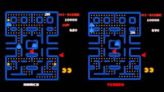 Pac-Man Tengen vs. Namco Comparison