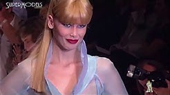 Claudia Schiffer Best Moments on Catwalk 1990 - 2000 part 2 by Supermodels Channel