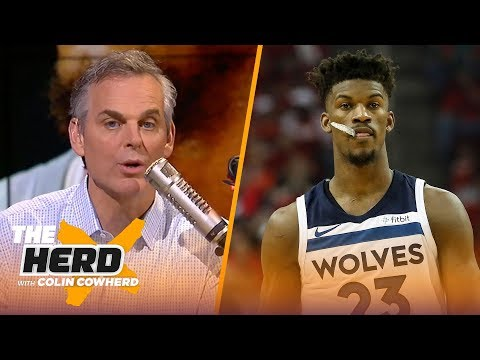 Colin Cowherd on Butler going \'crazy town\', Lakers beating Warriors in preseason | NBA | THE HERD