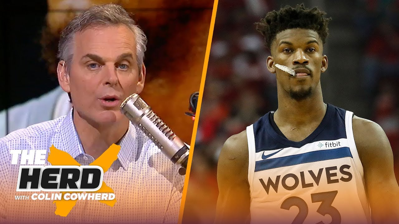 Colin Cowherd on Butler going 'crazy town', Lakers beating Warriors in preseason | NBA | THE HERD