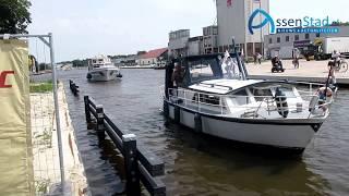 rondvaart fluisterboot in Blauwe As te Assen