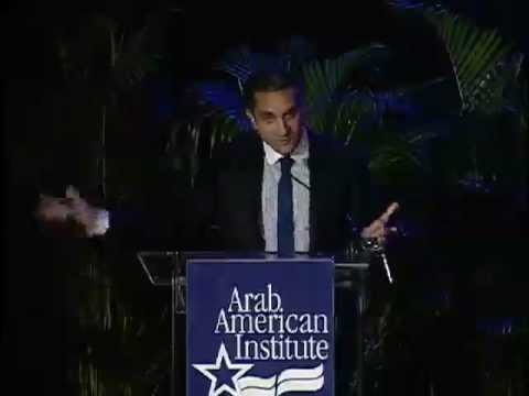 "Bassem Youssef at the Arab American Institute's Kahlil Gibran ""Spirit of Humanity"" Awards Gala"