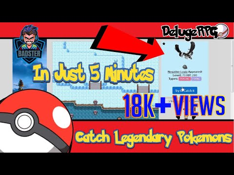 DelugeRPG | How to get legendary pokemon | Latest! After Update!!!!!