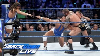 American Alpha vs Wyatt Family - Tag Team Title  #1 Contenders' Match: SmackDown LIVE, Nov 29, 2016
