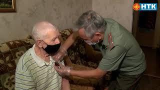 Ветерана Великой Отечественной войны вручили юбилейные медали «За освобождение Беларуси»