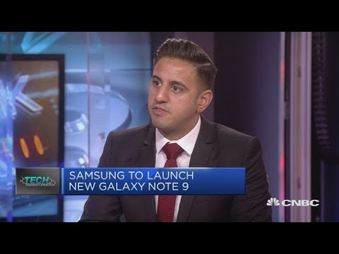 Samsung set to unveil Galaxy Note 9   In The News