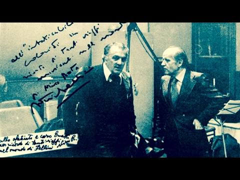 [RARE] Voice of ● Federico Fellini ● Nino Rota ● Carlo and Federico Savina (Recording Session)