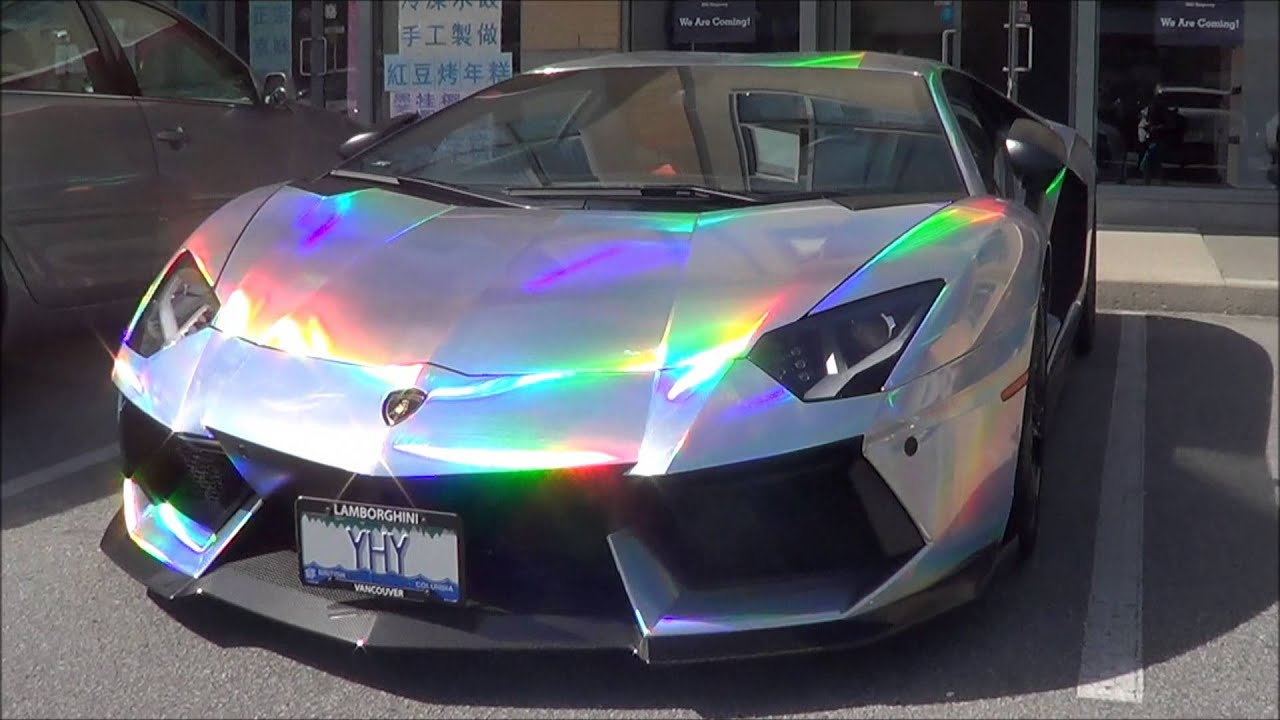 Lamborghini Aventador Cars Wallpapers Holographic Lamborghini Aventador Youtube
