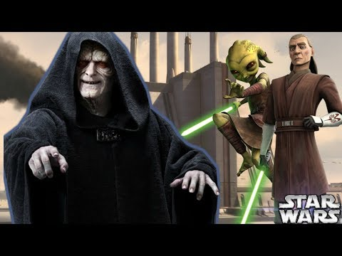 How Palpatine Made 5 Jedi FIGHT For His ENTERTAINMENT After Order 66 - Star Wars Explained