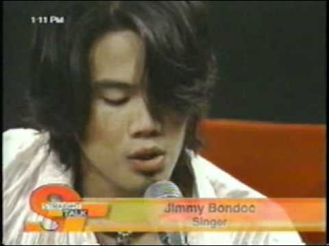 Jimmy Bondoc - Let Me Be The One (Straight Talk - 04.22.04)