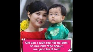 Mẹ Loan (Sài Gòn) giúp con hết viêm mũi họng nhờ Cốm vị socola