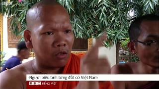 Nhà sư Khmer phản đối chính phủ VN