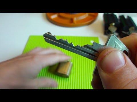 Взлом отмычками ASSA   (170) Picking an ASSA 6-pin oval