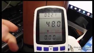 видео Сколько потребляет компьютер электроэнергии в час