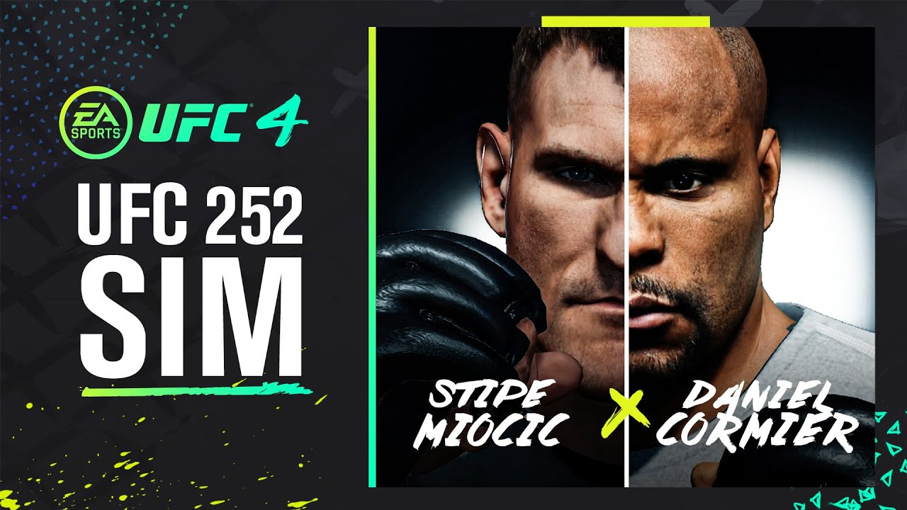 UFC 252: Daniel Cormier vs Stipe Miocic - EA SPORTS UFC 4 Simulation