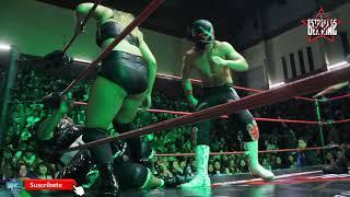 La Hiedra y el Villano III Jr vs Big Mami y Niño Hamburguesa CAMPEONATOS MIXTOS AAA