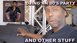 DJ Gig Log - Working an 80s party, dealing with multi-party drama...DJing in 2 minutes or less