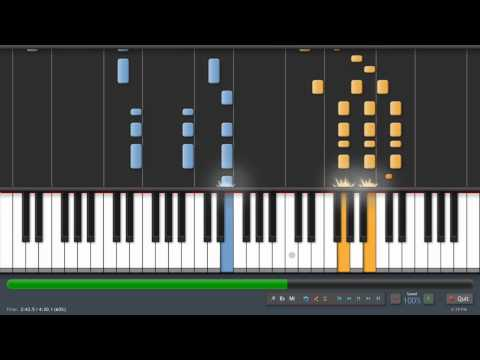 Coldplay  Speed Of Sound  Adrian Lee Version piano tutorial