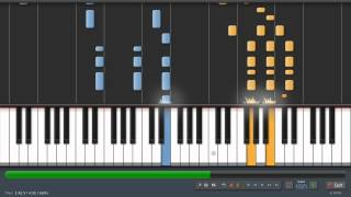 Coldplay - Speed Of Sound - Adrian Lee Version (piano tutorial)