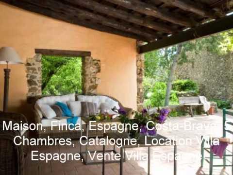 Vacances Costa Brava Espagne - Maison Finca Catalogne Location Vacances