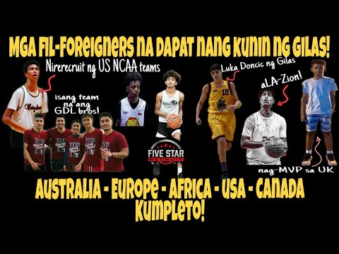 Kilalanin! Mga Filipino-Foreigners GILAS PILIPINAS YOUTH PROSPECTS | Wag sana silang ma-Jalen Green!