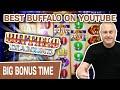 🥳 BEST BUFFALO SLOTS ON YOUTUBE! 🐃 MINI BOOM Playing Buffalo Diamond
