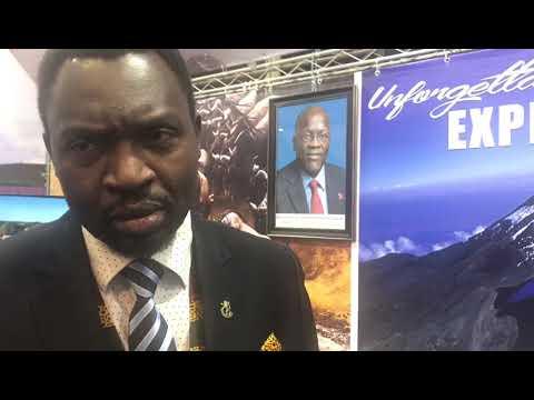 Hon. Dr. Hamisi Kigwangalla, Tanzania Minister of Tourism's interview at IMTM 2019